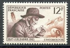 STAMP / TIMBRE FRANCE NEUF N° 1055 ** INVENTEUR ET CHERCHEURS JH. FABRE