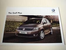 Volkswagen . Golf . Volkswagen Golf Plus . July 2012 Sales Brochure