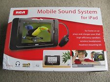 Brand New RCA Mobile Sound Speaker System & Wireless Headphones RPD663