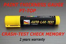 Paint Thickness Meter Gauge BIT CRASH CHECK MEMORY / PT-TOP CRASH-TESTER