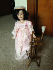 """Danbury Mint The Story Book Doll Collection """"Sleeping Beauty"""" 11"""" Doll w/Coa"""