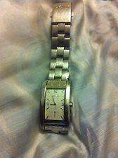 DKNY heavy stainless steel silver watch model340310