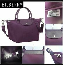longchamp le pliage neo medium handbag BILBERRY purple NEW