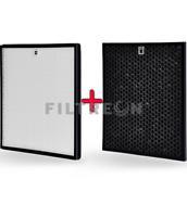 Filtreon 2in1 Filter für Philips AC2887, AC2889, AC3829, HEPA+Kohle FY2422/30