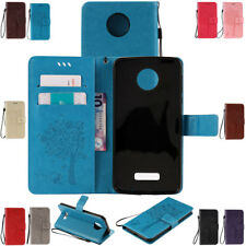 For Motorola MOTO G4 G5 Plus Play Luxury Leather Cash Card Slots Flip Stand Case