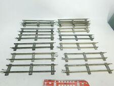 bi743-2 #15x MÄRKLIN escala 0 piezas de Vía Recto (26cm) para accionamiento