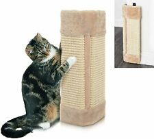 CORNER SISAL WALL SCRATCHER PET KITTEN CATS HANGING CAT SCRATCHING POST BOARD