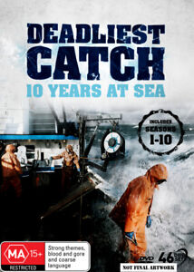 Deadliest Catch: 10 Years at Sea - DVD (NEW & SEALED)
