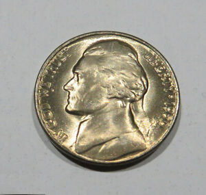 1950 D Jefferson Nickel BU Uncirculated Five Cent Coin #2