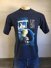 KURT COBAIN NIRVANA Shirt 2000 End Of Music Grunge Rock Music Guitar Tshirt Lrg