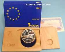 1997  5  EUROS - NIEUPORT -AVIACIÓN ESPAÑOLA - PLATA - ESPAÑA