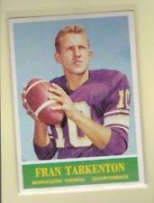 1964 PHILADELPHIA FOOTBALL FRAN TARKENTON #109 VIKINGS EXMT *62578