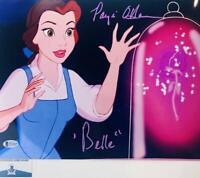 Paige O'Hara signed Belle 11X14 photo Beauty and the Beast BAS COA W24669