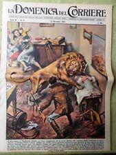 La Domenica del Corriere 23 Novembre 1958 Nobel Georges Pire Re Hussein De Palma