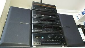 KENWOOD HiFi 6 pieces Stack system separates A-65 X-85 T-85L GE-850 DP-950 LS-65