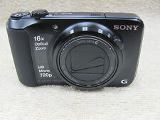 Sony Cyber-shot DSC-H90 16.1MP Digital Camera - Black