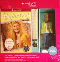 American Girl Beforever Julie Mini Doll with 3 Books, Stand and Bookmark