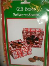 2 Count Christmas Gift Boxes