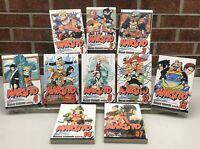 Naruto Shonen Jump Graphic Novel 1-6, 12-14, 37 English Masasgi Kishimoto