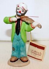 Emmett Kelly, Jr Collection Exclusively from Flambro 1984 Violin Player