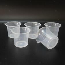 5er 25ml Labor Küche Messschale abgestufter Becherbehälter DIY