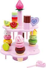 Etagere Süßigkeiten Lutscher Kaufladen Holz Kinder Kuchen NEU Eis small foot