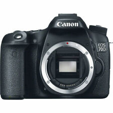 NEW BOXED CANON EOS 70D DIGITAL SLR CAMERA BODY ONLY