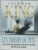 LT's THEORY OF PETS by Stephen King ~ Live Audio Recording on Cassette