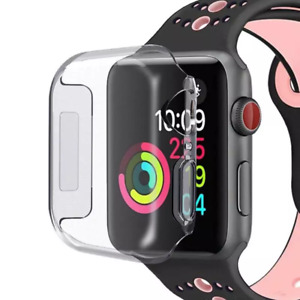Apple Watch Series 1 2 3 4 5 6 SE Schutzhülle Full Cover Case Screen Protector