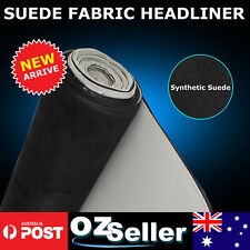 Synthetic Micro Suede Headliner Roof Lining Reupholstery Repair Material 1.51x1M