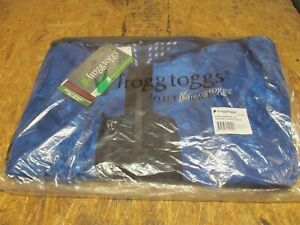 Frogg Toggs Pilot Pro Jacket - Realtree Fishing Blue/Charcoal - XXXL   (lot 1023
