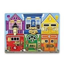 Latches Board by Melissa & Doug Brand New Free Expedited Shipping