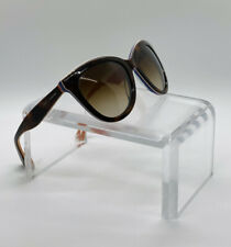 Dolce & Gabbana Dg 4207 2765/13 Cat Eye Orange Havana Brown Sunglasses 55*20*140
