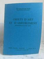 Catalogue Di Vendita Articolo Arte E Tappezzeria XVIII N°6 19 Febbraio 1975