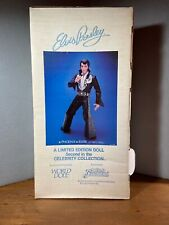 "Vintage NIB Elvis Presley World Doll Phoenix 21"" Vinyl Limited Edition Doll 1984"