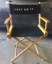 Vintage 90's Nike Jordan Directors Chair Store Display Just Do It Advertising