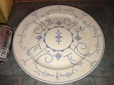 "ROYAL BOCH Copenhague BELGIUM Large ROUND Serving Platter PLATE 12"""