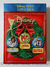 Disney Dog Movies Snow Dogs Beverly Hills Chihuahua Eight Below DVD Box Set