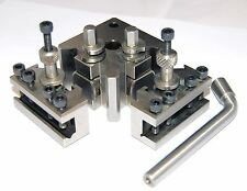 3pc Quick Change Toolpost to Suit Myford ML7 Lathe  (Ref: 390001) From Chronos
