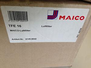 Maico Luftfiler TFE 16 für Rohreinbau Luftfilterbox