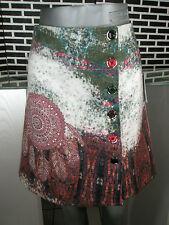 M38 40 nuevos en exclusiva colección de invierno diseño mini falda lentejuelas tachuelas botones