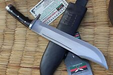 "16"" Hand Forged Full Tang Blade Bowie knife , NHZ Nepal Khukuri Knifes"