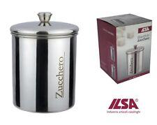 Barattolo Zucchero Cl.100 inox 18/10 ILSA