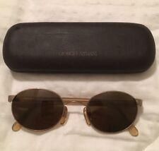 Giorgio Armani Italy Vintage Sunglasses Unisex Rare Nice Glasses