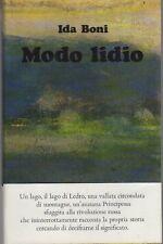 Modo lidio: romanzo. La salamandra;