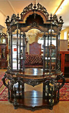 Victorian 19th Century Rosewood Etagere Attributed To Thomas Brooks Or J.W Meeks