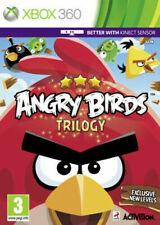 Xbox 360 - Angry Birds Trilogy - Same Day Dispatch - Boxed - VGC