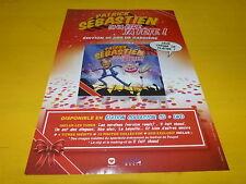 PATRICK SEBASTIEN - Ca va être ta fête - Publicité de magazine / Advert !!