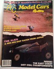 Radio Control Model Cars Mag Vtg Nov 1987 RARE VHTF Ads! England Alien Dirt
