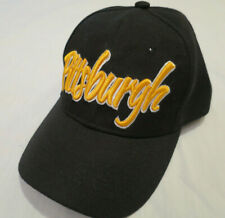 NEW Pittsburgh Hat Ball Cap Black Adult one size